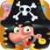 Caribbean Pirate - Octopus, Turtles, Mutant Crabs Finger Swipe Free Game