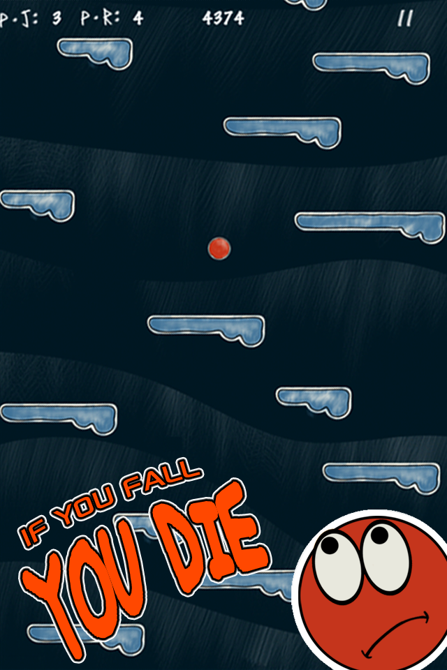 Screenshot Roll the Ball and Jump – The Best Fun Doodle Platform Game